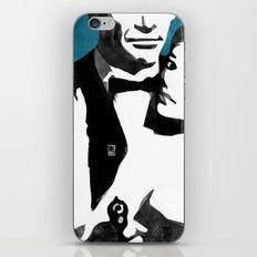 Retro Secret Agent iPhone & iPod Skin