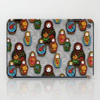 Matryoshki pattern iPad Case