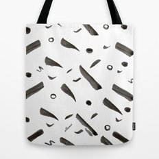 Brushes Pattern Tote Bag