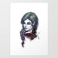 Cecropia Art Print