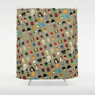 SuperHeroes Shower Curtain