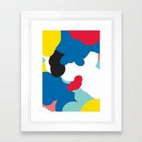 Oxford. Framed Art Print