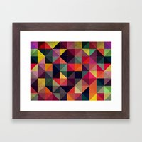 Colors Pattern Framed Art Print