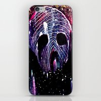 Cosmic Cranium iPhone & iPod Skin