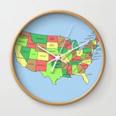 This Land Isn't Your Land Wall Clock