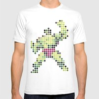Mr Green 1 Mens Fitted Tee White SMALL