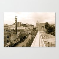 Above State Street - Madison, Wisconsin Canvas Print