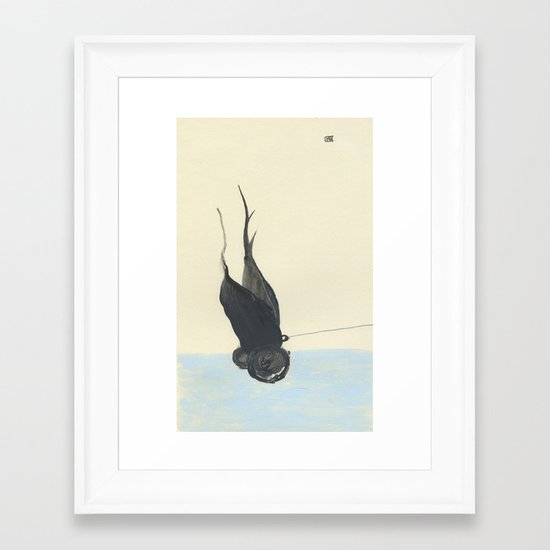 Take me with you Framed Art Print