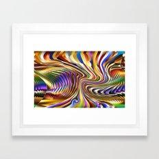 3 Dimensional Pinball Ab… Framed Art Print