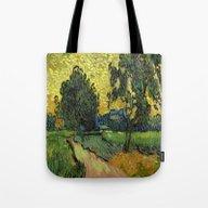 Landscape At Twilight Vi… Tote Bag