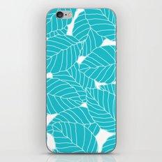 Sweet Leafs: Bermuda Blue iPhone & iPod Skin