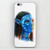 Avatar iPhone & iPod Skin