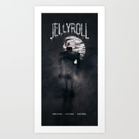 Jellyroll #12: Howlin' Art Print