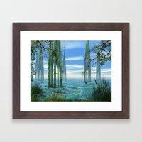 Cathedrals Framed Art Print