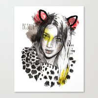 Bestia Canvas Print