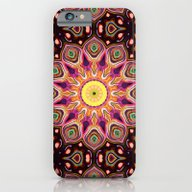 Colorful Digital Flower iPhone 6 Slim Case