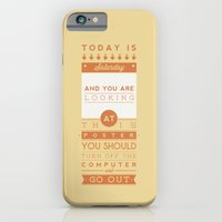 iPhone & iPod Case featuring Saturday night fever. by Typexperiments