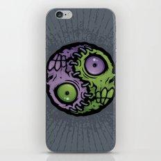 Zombie Yin-Yang iPhone & iPod Skin