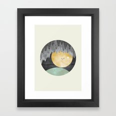 View From The Cave Framed Art Print