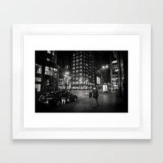 Film Noir VI Framed Art Print