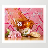 Coffee Anyone?! Art Print