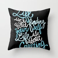 George Bernard Shaw Throw Pillow