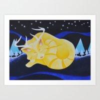 Winter Spirit II Art Print