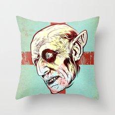 Nosferatu Throw Pillow