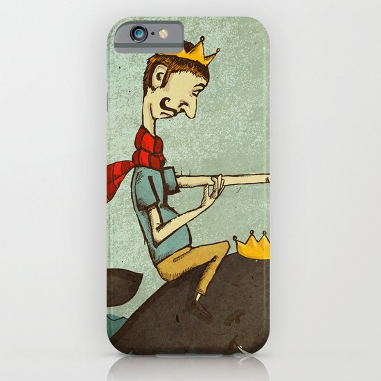 The King of Nothing iPhone & iPod Case