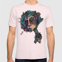 All In The Colors Mens Fitted Tee Light Pink SMALL