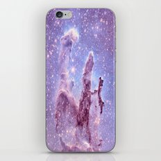 Subtle Space : Pillars of Creation Nebula iPhone & iPod Skin