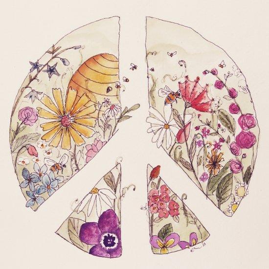 Peace On Earth Art Print By Edarcydesign Society6