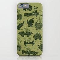iPhone & iPod Case featuring Critter Cars by WanderingBert / David Creighton-Pester