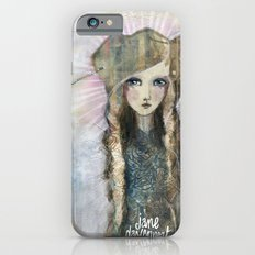 Gesso Geisha by Jane Davenport iPhone 6 Slim Case