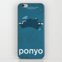 Ponyo iPhone & iPod Skin