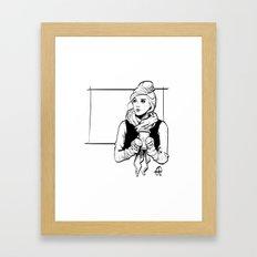 Inverno Framed Art Print