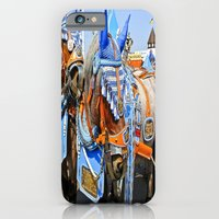 iPhone & iPod Case featuring Haufbraugh Horses by Kim Ramage