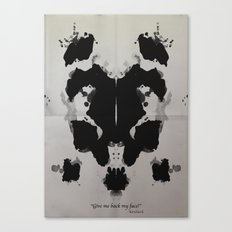 Rorscharch Canvas Print