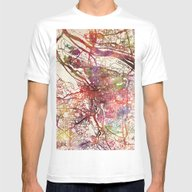 Portland Mens Fitted Tee White SMALL