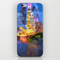 Chicago River iPhone & iPod Skin