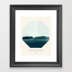 Do you know how badly I want to kill you? Framed Art Print