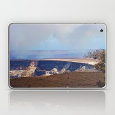 On Top Of The Volcano Laptop & iPad Skin