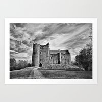 Doune Castle, Stirlingshire Art Print