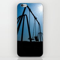 Abandoned Swing Set iPhone & iPod Skin