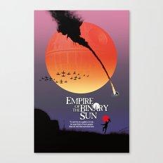 Empire of the Binary Sun Canvas Print