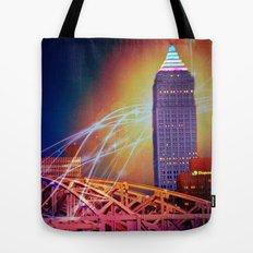 Moonbeams Over The Bridge Tote Bag