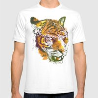 Hidden Mens Fitted Tee White SMALL