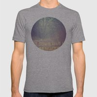 Lush Mens Fitted Tee Athletic Grey SMALL