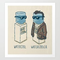 Watercool Art Print