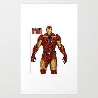 Darth Stark Art Print
